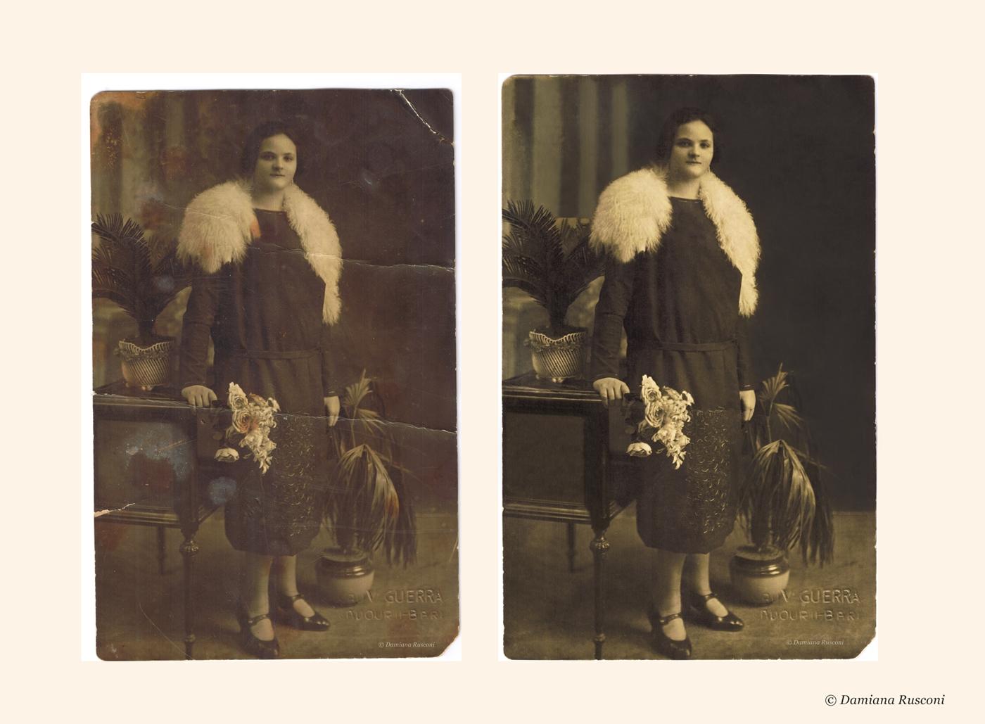 restauro digitale foto antiche